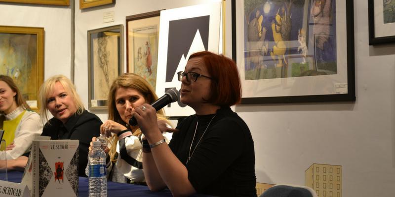 V. E. Schwab, Kim Ligett, Erika Lewis, Susan Dennard